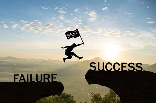 Use Your Failures to Succeed