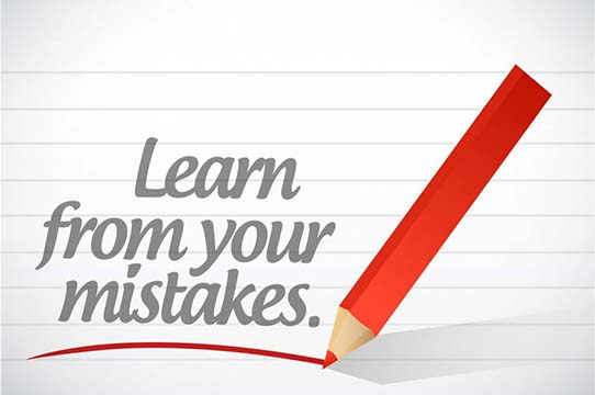 Do These Things When You Make a Mistake