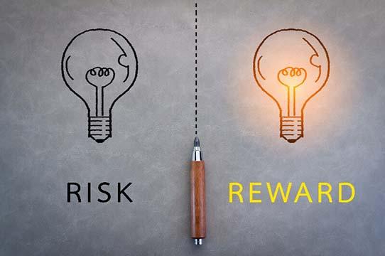 Take rish get reward