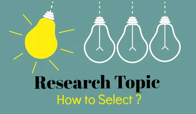 How to select a research topic